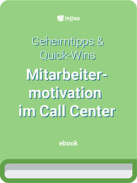 injixo E-Book - Mitarbeitermotivation im Call Center