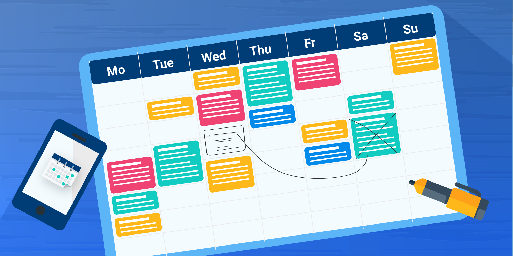 The Planner's Dilemma: How to Schedule Meetings, Training and Coaching