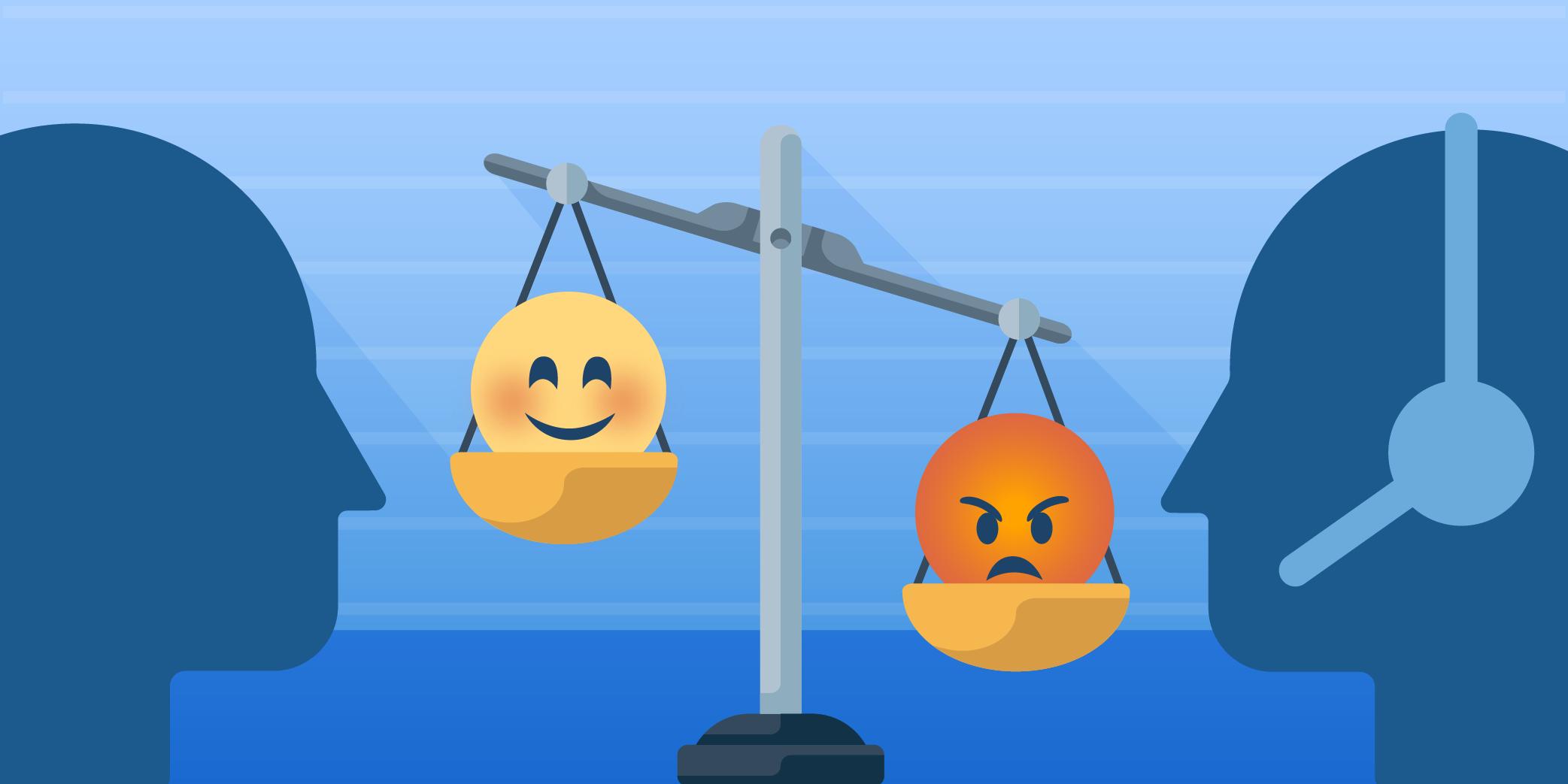 Das Dilemma mit der Zufriedenheit: Kunde oder Mitarbeiter?