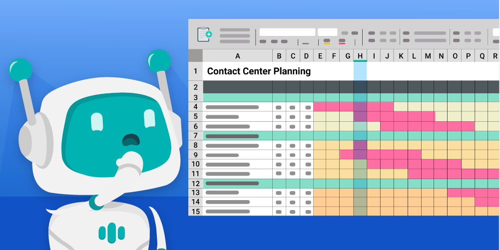 8 FAQs über Contact Center-Planung mit Excel
