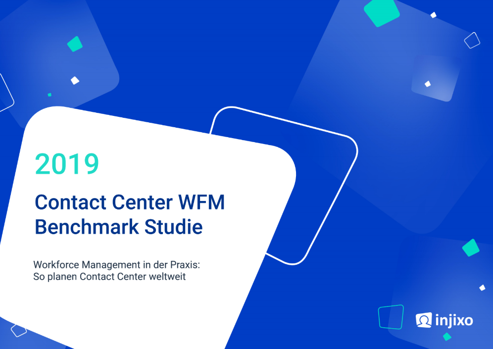 Contact Center WFM Benchmark Studie 2019
