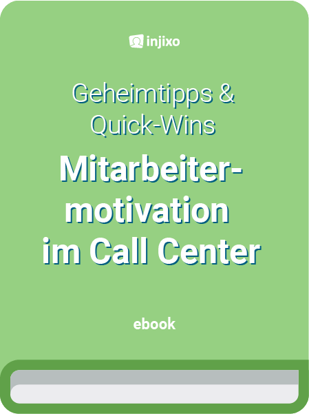 Das E-Book zur Mitarbeiter-Motivation im Contact Center